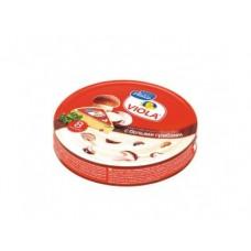 Плавленый Сыр  VIOLA с белыми грибами, 130г, 1 штука