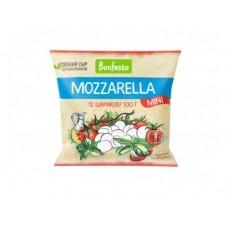 Сыр Моцарелла  BONFESTO в рассоле мини, 100г, 1 штука