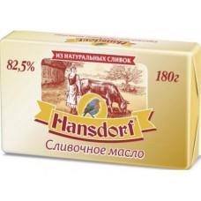 Сливочное масло HANSDORF 82,5%, 180г, 1 штука
