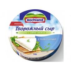 Творожный сыр HOCHLAND Сливочный, 140г, 1 штука