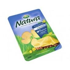 Сыр НАТУРА Тильзитер нарезка 150г, 1 штука
