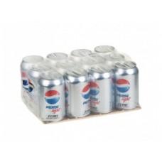 PEPSI light газированный напиток, 0,33л, 12 штук