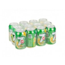 7-UP газированный напиток, 0,33л, 12 штук