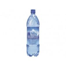 Вода AQUAMINERALE питьевая газированная, 1,25л, 12 штук