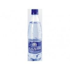 Вода BONAQUA питьевая газированная, 0,5л, 24 штуки