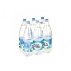Вода BONAQUA питьевая негазированная, 2л, 6 штук