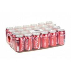 COCA-COLA газированный напиток, 0,33л, 24 штуки