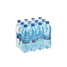 Вода AQUA MINERALE питьевая газированная, 0,6л, 12 штук