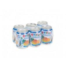 Напиток сокосодержащий FRUITING мультифрукт с кусочками кокоса,  0,238л, 6 штук