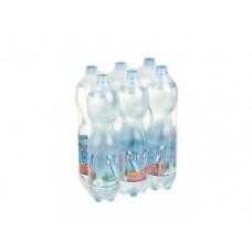 Питьевая  вода СЕНЕЖСКАЯ газированная, 1,5л, 6 штук