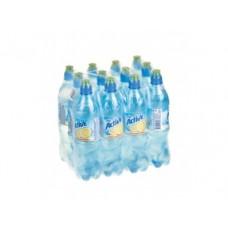 Питьевая вода AQUA MINERALE актив лимон, 0,6л, 12 коробок