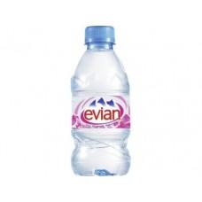 Минеральная вода EVIAN, 0,33 л, 24 штуки