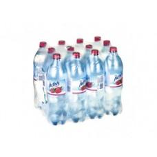 Питьевая вода ACTIVE малина, 1,25л, 12 штук