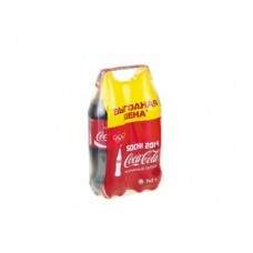 COCA-COLA твин-пак газированный напиток, 2x2л, 1 штука