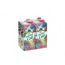 Напиток сокосодержащий ФРУКТОВЫЙ САД лесные ягоды, 0,95л, 4 штуки