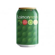 LAIMON FRESH газированный напиток, 330 мл, 24 штуки