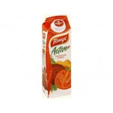 Напиток сокосодержащий ТОНУС овощная смесь, 1,45л, 4 штуки