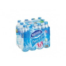 Питьевая вода NESTLE Pure Life, 0,5л, 12 штук