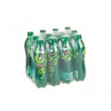 7-UP лайм-мята газированный напиток, 0,6л, 12 штук