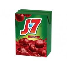Нектар J7 вишневый, 200мл, 6 штук