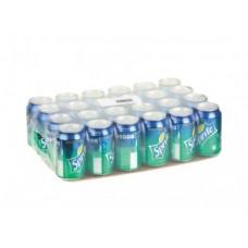 SPRITE газированный напиток, 0,33л, 24 штуки
