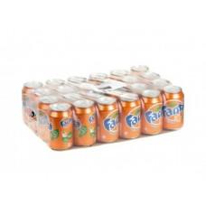 FANTA газированный напиток, 0,33л, 24 штуки