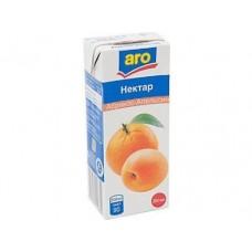 Нектар ARO Абрикос и апельсин, 0.2л, 6 штук