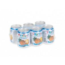 Напиток сокосодержащий FRUITING с кусочками ананаса,  0,238л, 6 штук